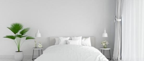Designerskie drewniane łóżko