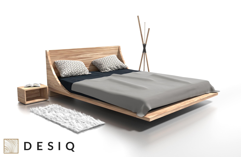 Łóżko drewniane Russ