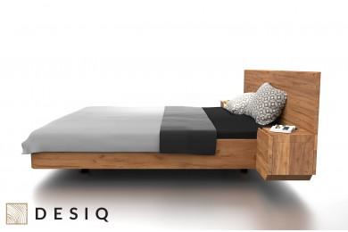 Łóżko drewniane Mutombo